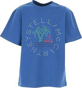 Stella McCartney Tricou pentru Băieți - Spring - Summer 2021