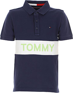 Tommy Hilfiger Tricou Polo pentru Băieți - Spring - Summer 2021