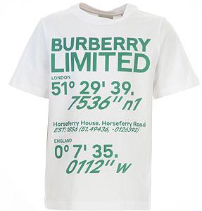 Burberry Tricou pentru Băieți - Spring - Summer 2021
