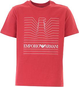 Emporio Armani Tricou pentru Băieți - Spring - Summer 2021