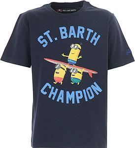 Mc2 Saint Barth Tricou pentru Băieți - 2021 Collection