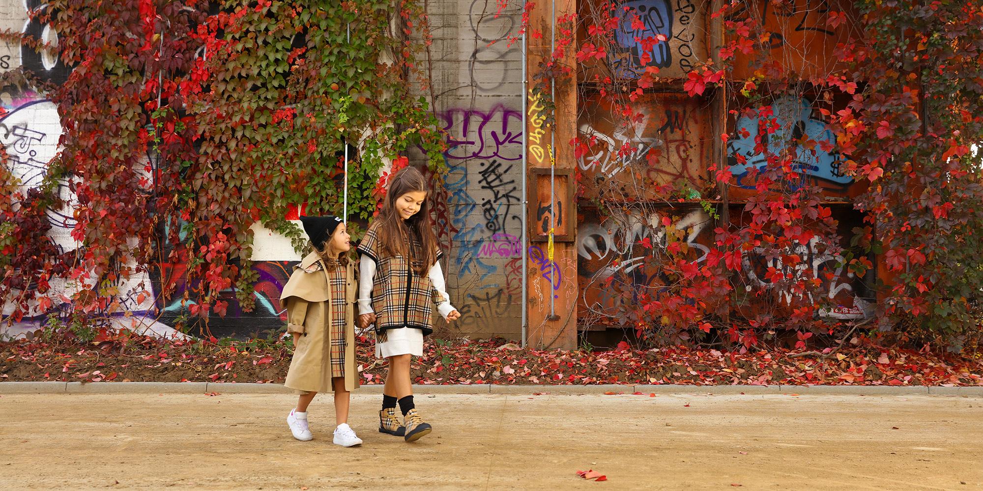 Burberry Одежда для девочек