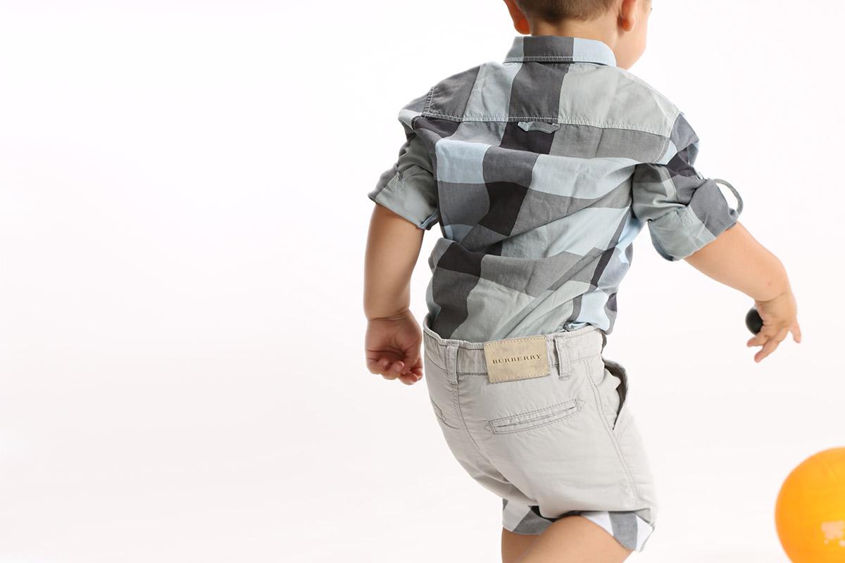 Одежда для новорожденных мальчиков Burberry