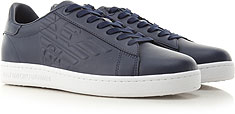 Emporio Armani Giày Sneaker cho Nam - Fall - Winter 2021/22