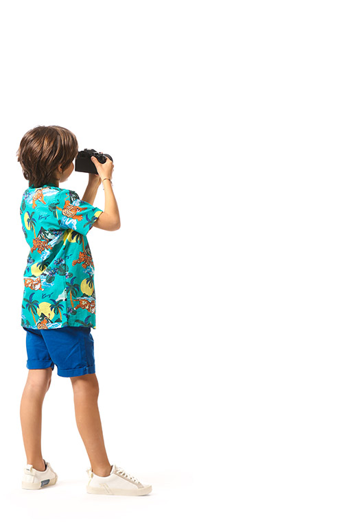 Erkek Çocuklar İçin Çocuk Gömlekleri
