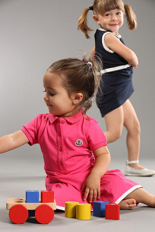 Moncler Kız Bebek Giysileri