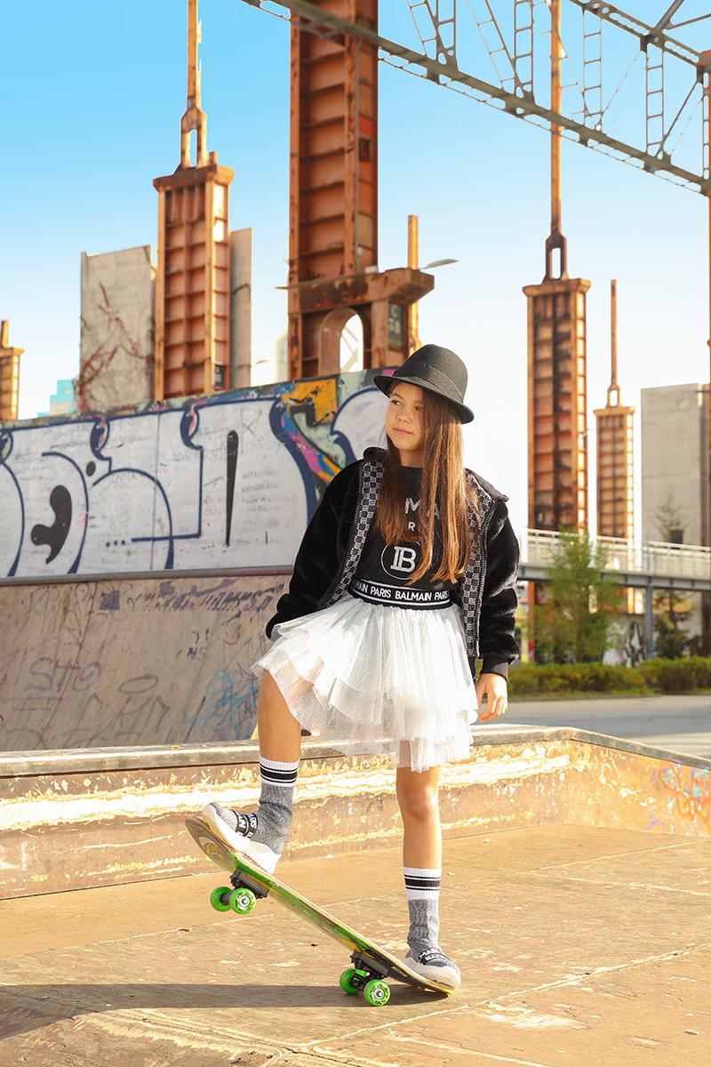 Balmain Kız Çocuk Giyim